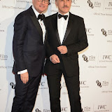 WWW.ENTSIMAGES.COM -    Georges Kern and Christoph Waltz  arriving at       IWC Schaffhausen and BFI London Film Festival - private dinner at Battersea Evolution, London October 7th 2014Swiss watch brand and British Film Institute host party to celebrate their three year partnership.                                                Photo Mobis Photos/OIC 0203 174 1069