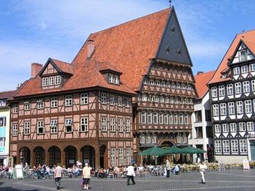 Hildesheim_Knochenhaueramtshaus_Hildesia