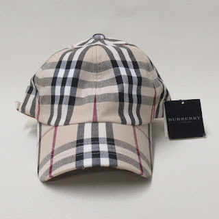 Burberry London NEW Plaid Baseball Cap
