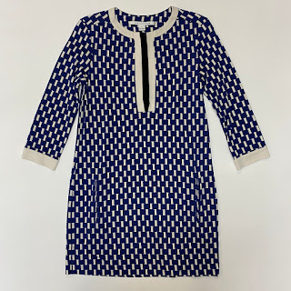 Diane Von Fürstenberg Blue Shift Dress