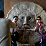 4. The Mouth of Truth (La Bocca della Verita). The Church of Santa Maria in Cosmedin. Rome. 2013