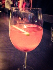 The Addisons Toronto: strawberry sangria
