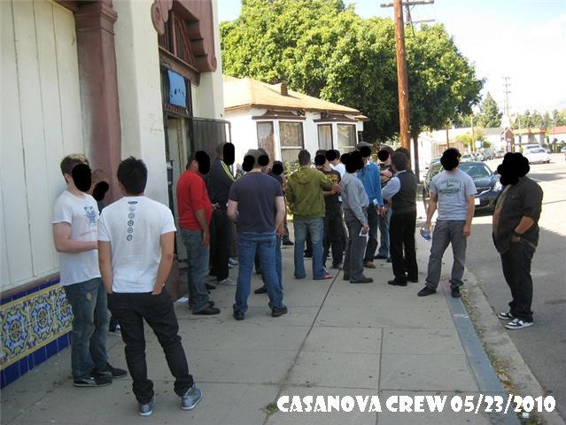 Casanova Crew 2010 1, Casanova Crew