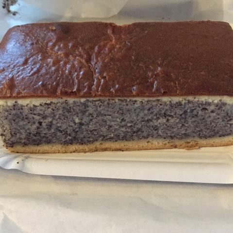 Mohnkuchen vom Bäcker