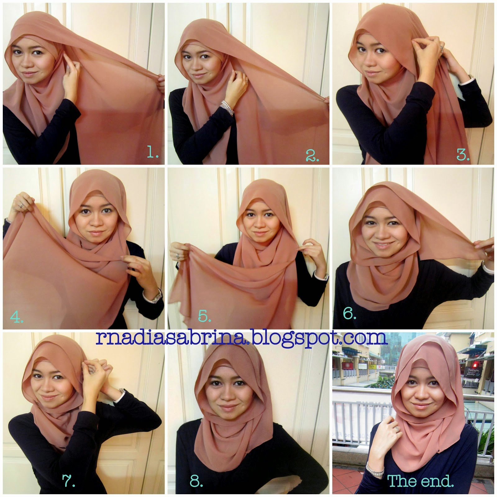 27 Galery Tutorial Hijab Orang Gemuk Paling Lengkap Tutorial