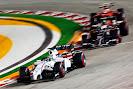 Felipe Massa, Williams FW36 gong fast