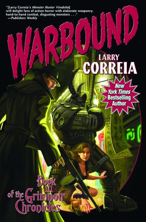 Warbound cover
