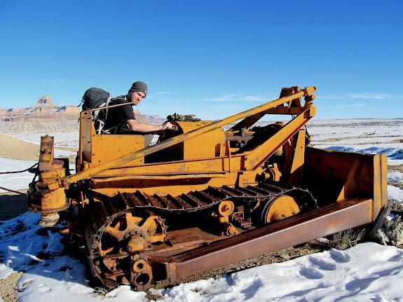 Allis Chalmers bulldozer