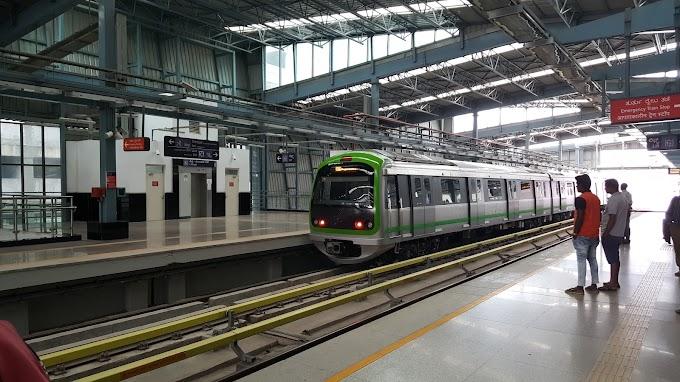 Bengaluru's metro corridors - trying to understand them - green line