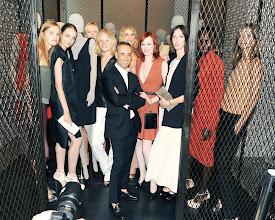 Photo: Hanne Gaby, Francisco Costa, Angela Lindvall, Karen Elson, Ruby Aldridge, Jeneil Williams, Kasia Struss