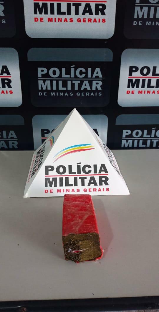 Em mais uma ação Polícia Militar de Divino apreende grande quantidade de entorpecente