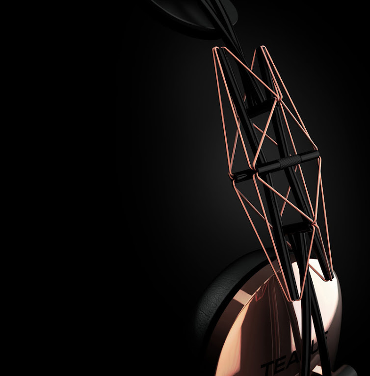 *TEAGUE:「20/20 Concept headphone」 支架概念耳機 1
