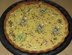 La tarte au chocolat blanc