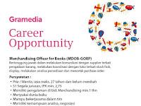 Lowongan Kerja Merchandising Officer for Books Gramedia Terbaru 2016