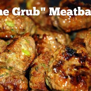 """The Grub"" Meatballs."
