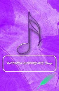 NATALIA LAFORCADE SONGS - náhled