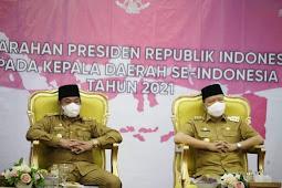 Tren Konfirmasi Positif Covid-19 Menurun, Presiden Jokowi Puji Provinsi Bengkulu