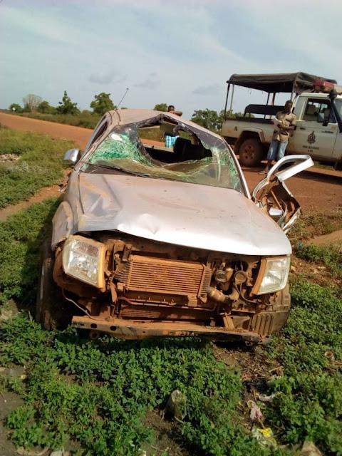 KARAGA DCE Escapes Accident Unhurt