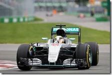 Lewis Hamilton ha vinto il gran premio del Canada 2016