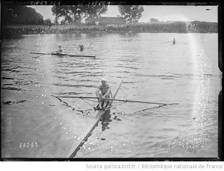 1921-La saison de l'équipe de France d'aviron