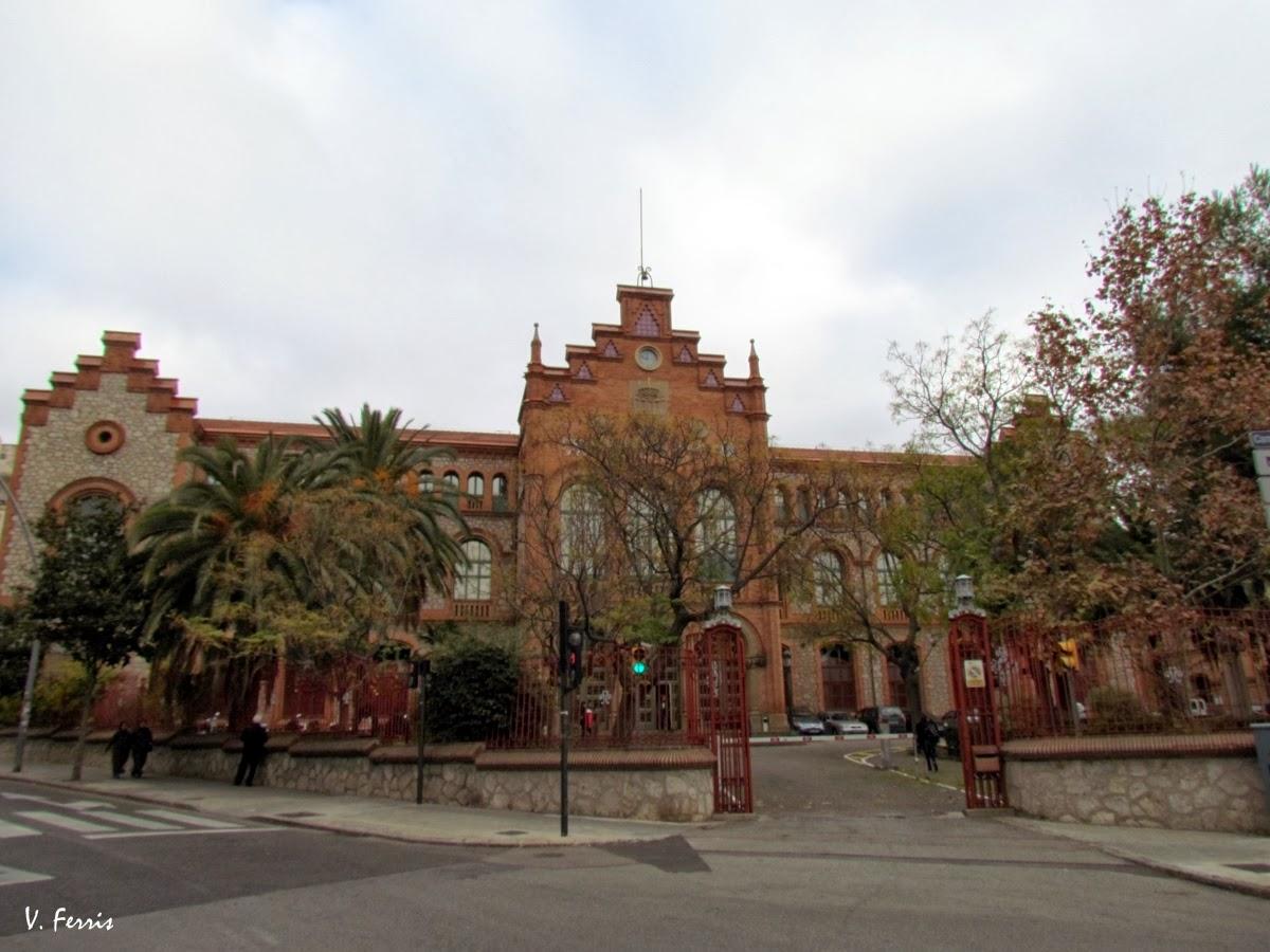 Escola industrial de terrassa barcelona modernista - Arquitectos terrassa ...