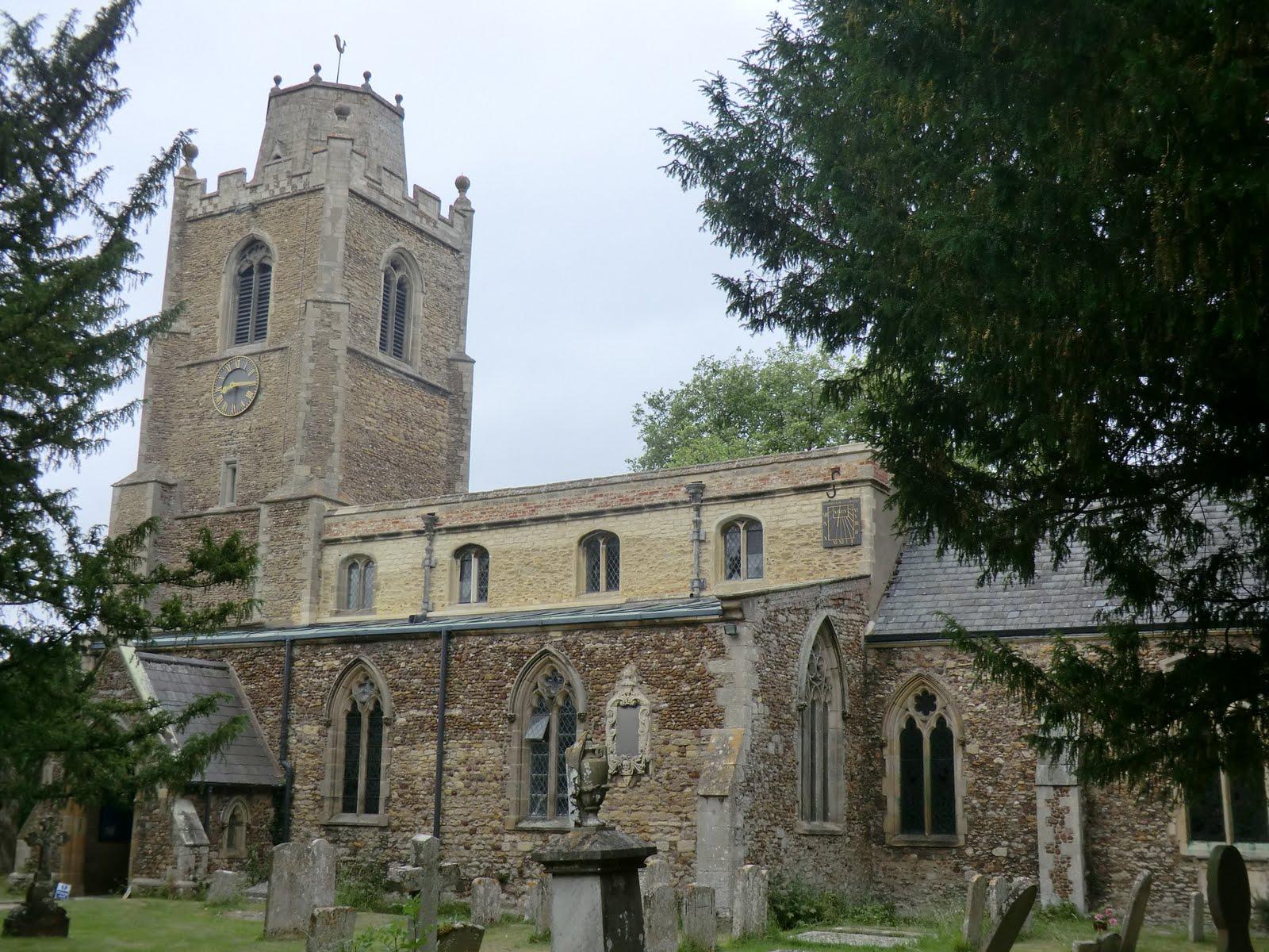 CIMG7807 St James's church, Hemingford Grey