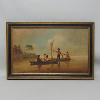 Antique Signed Oil Painting