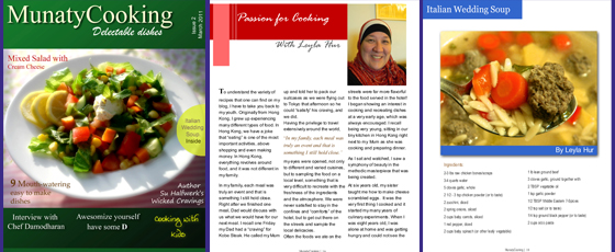 Leyla Hur, as featured in Munaty Cooking