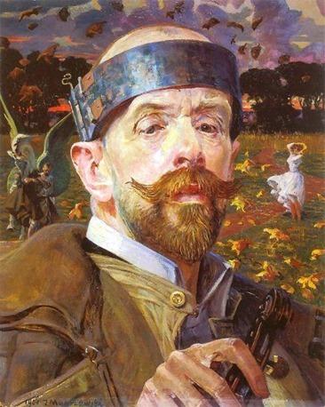 Giacomo Balla, Autoritratto