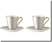 LSA Coffee Cups and Saucers
