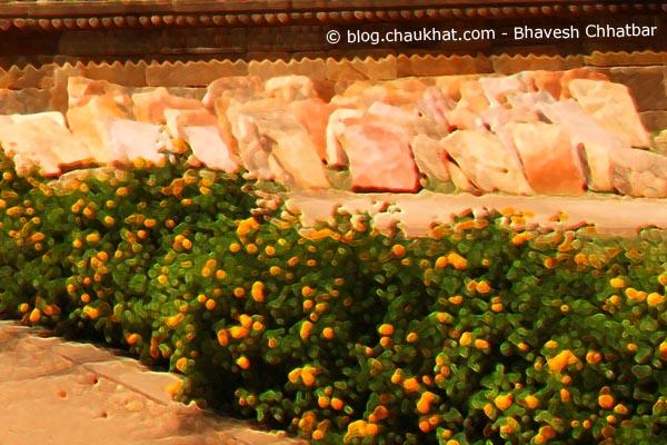 Shahar ki Masjid [Bohrani] at Champaner-Pavagadh Archaeological Park - Crop 1
