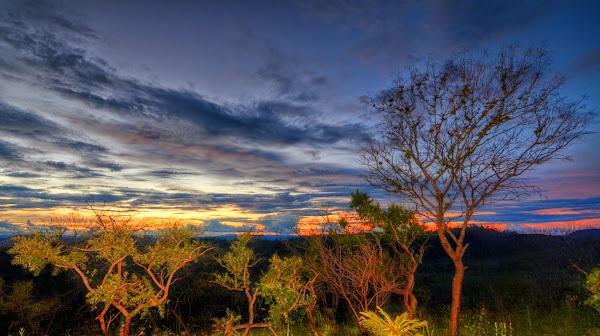 Pôr do sol no Mirante São Jorge