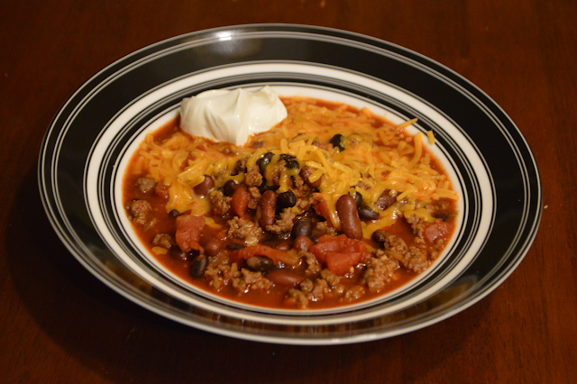Quick and Easy Beer Chili