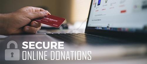 online secure donation