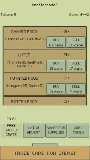 u2622 The Wanderer : Text-based Adventure Survival apkdebit screenshots 8