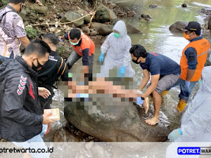 Mayat Perempuan di Temukan Telanjang di Sungai Purwosari
