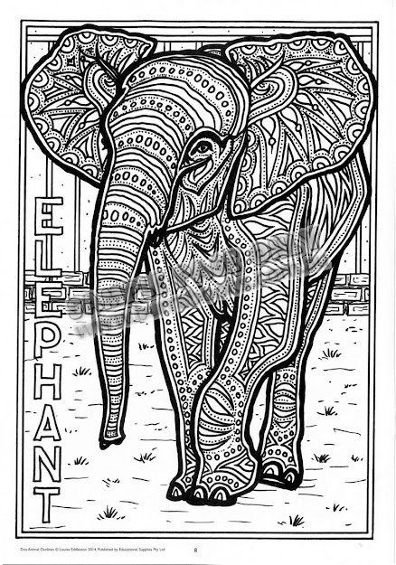 Animal Coloring Pages With Patterns Zebra Pattern Coloring Pages