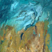 Landschaftliches, 1996. �l auf Leinwand, 111 x 71 cm. Euro  3.900,-