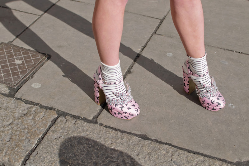 Miu Miu Bird Shoes