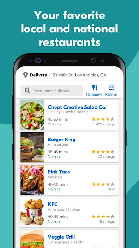 Grubhub: Local Food Delivery & Restaurant Takeout screenshots 3