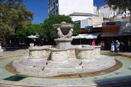 La fontaine Morosini à Héraklion (Ηράκλειο).