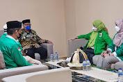 Jelang Muscab PPP, Andi Etti Temui Wakil Bupati Soppeng