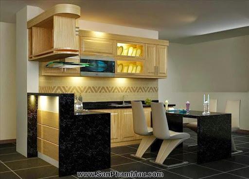 Các mẫu tủ bếp gỗ công nghiệp-2