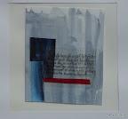 Bamberg, Diözesanarchiv, Skizze für ein Glasfensters, Folie, Papier 2004