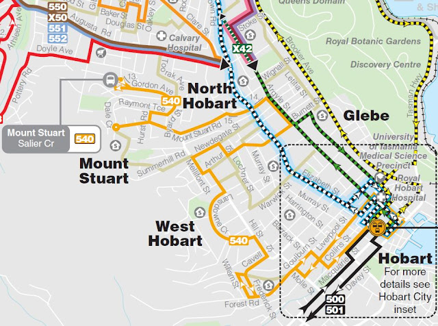 Petition Keep the Metro Bus route from West Hobart straight