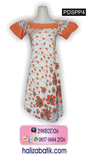 baju batik terbaru, busana batik modern, online baju wanita