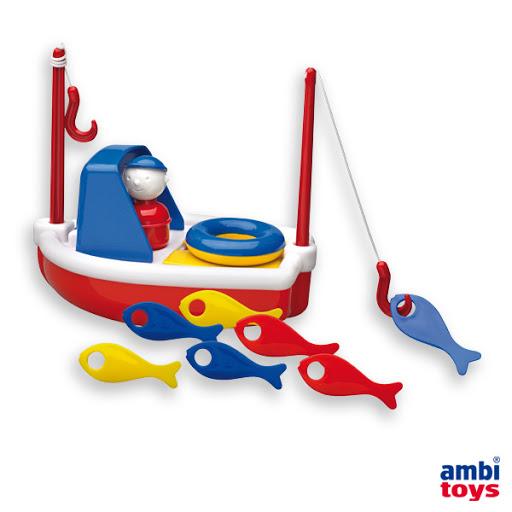 Contenido de Ambi® Toys Bote de Pesca