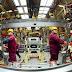 Chine : Activité industrielle en progression