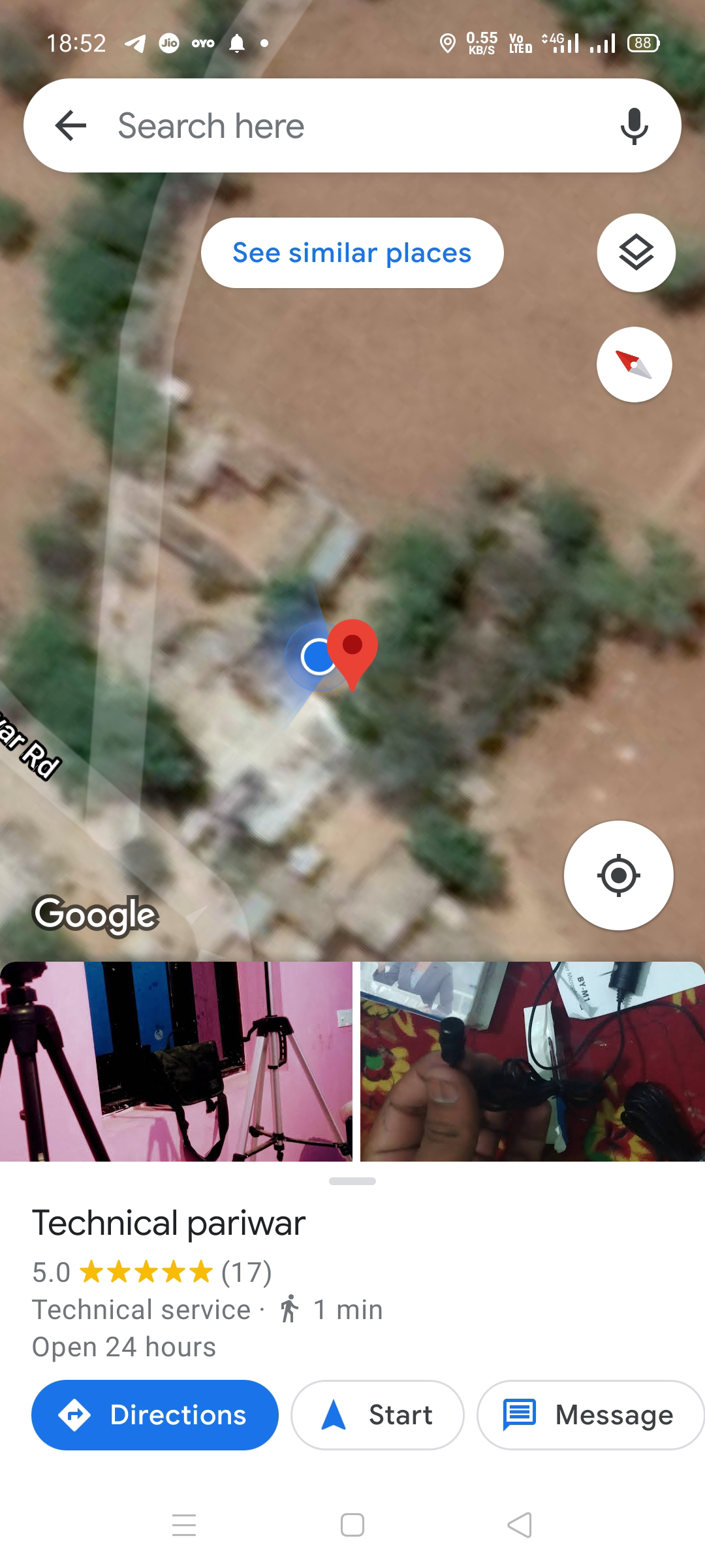 Your home live location