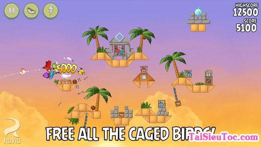 tải game Angry Birds cho iPhone